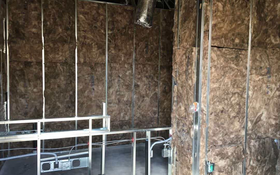 Altier Dental has been insulated and passed all of our top out inspections