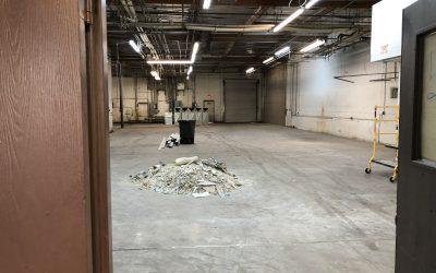 Demolition at Alma School Suites 10 & 11