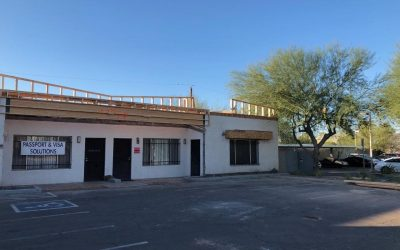 Exterior Storefront Renovation in Tempe
