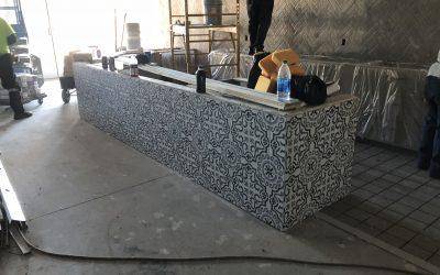 Gilbert Ice Cream Shop Tile Work Complete