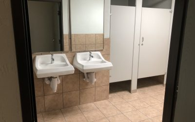Restroom Remodel for BKM Completed