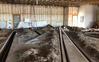 Underground Plumbing at Vito's Gilbert