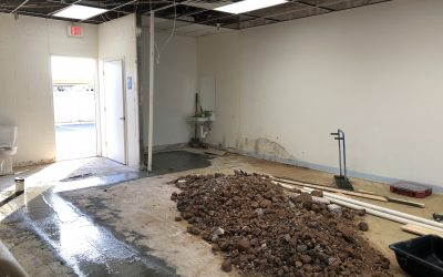 Concrete Poured Back at Ice Cream Production Facility (Mesa)