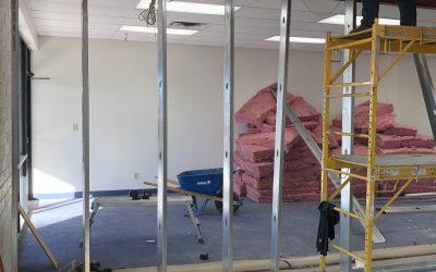 Framing at Ice Cream Production Facility (Mesa)