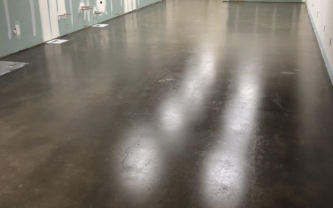 Concrete Floor Grind & Seal at Ice Cream Production Kitchen (Mesa)