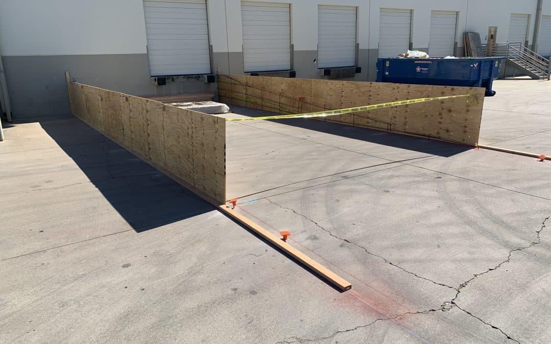Progress on Tempe Warehouse Ramp