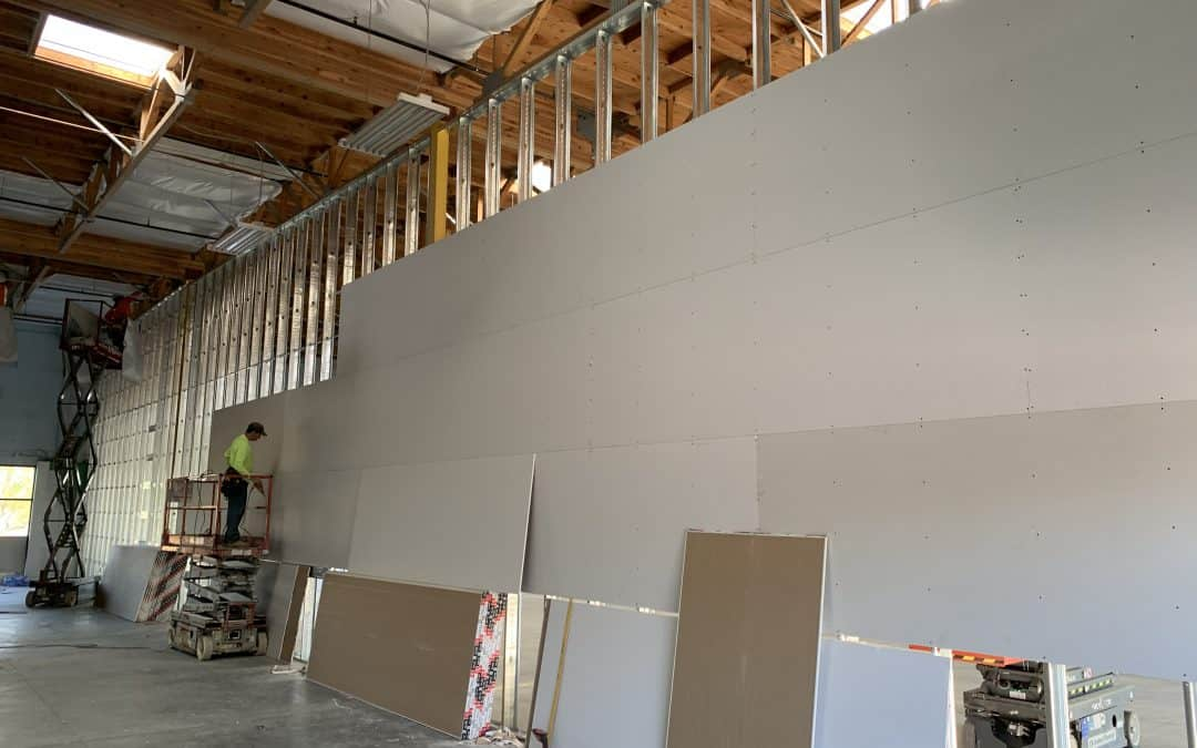 Drywall Day- Queen Creek Demising Wall