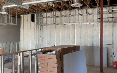 Interior Walls Insulated at Vito's (Gilbert)