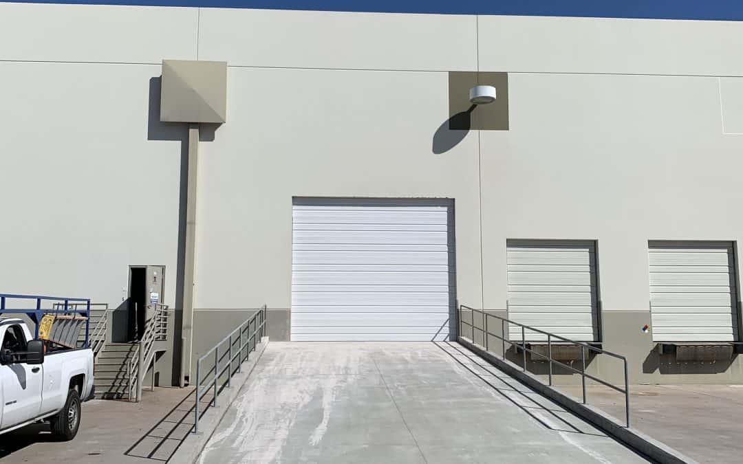 Warehouse Garage Door Expansion & Ramp Addition for BKM