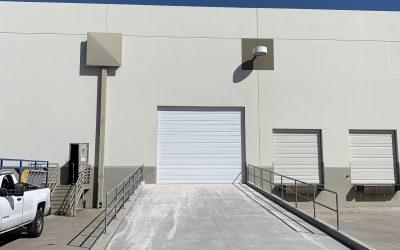 Tempe Warehouse Ramp & Garage Door Complete