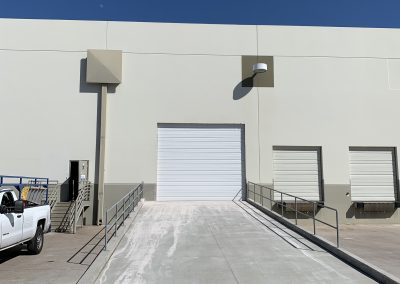 Warehouse Garage Door Expansion & Ramp Addition for BKM