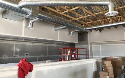 Drywall Taping at Vito's Gilbert