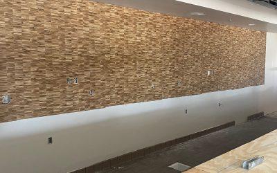 New Wallcoverings at Vito's Gilbert