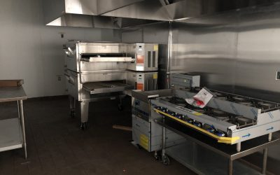 Kitchen Equipment, Ceiling Tiles, & Fixtures at Vito's