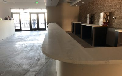 Flooring & More Progress at Vitos Ristorante (Gilbert)
