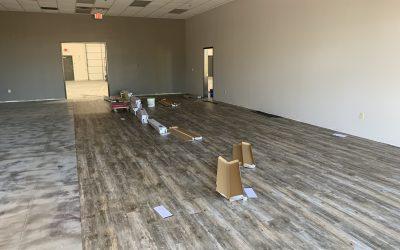 Floor Prep and LVT install in Queen Creek