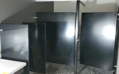 Restroom Stalls at Vito's