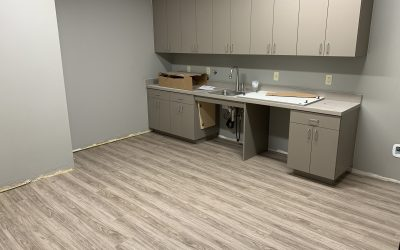 Flooring at Cordell & Cordell Law (Peoria)