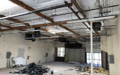 Demolition at Chandler Office/Industrial Spec. Suite