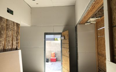 Drywall at Mama Linda's Bakery (Phoenix)