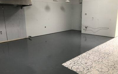 Epoxy Floors Complete at Mama Linda's Bakery