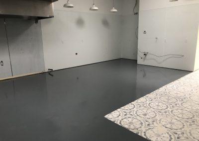 Mama Linda's Bakery Epoxy Floors