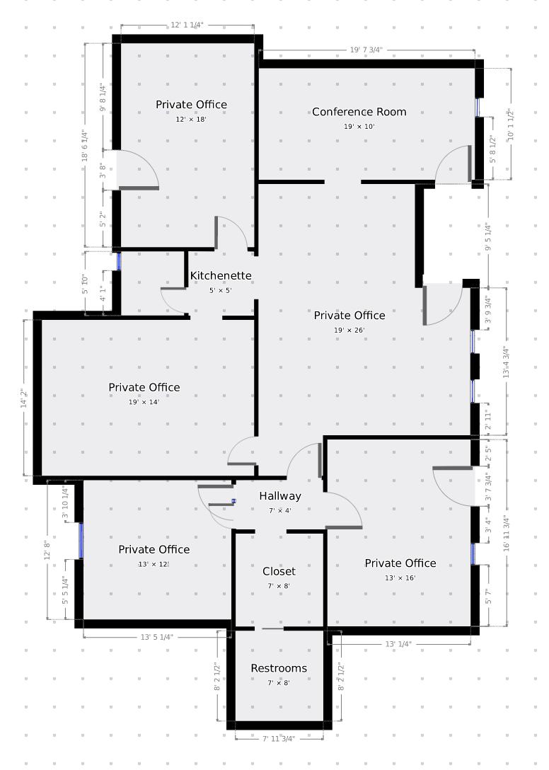 magicplan 2D floorplan