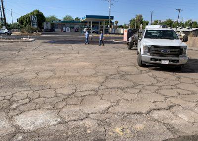 Parking Lot Paving at Mama Linda's Bakeshop Phoenix