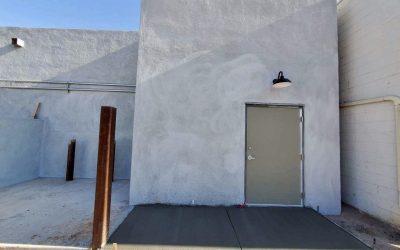 Concrete at Mama Linda's Bakeshop (Phoenix)