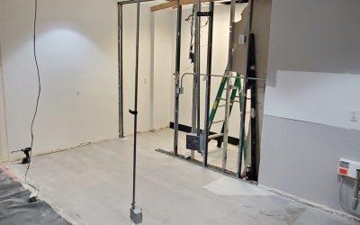 Demolition at New Phoenix Suite Remodel