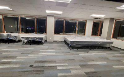 Phase 1B Flooring at EMC Insurance (Peoria)
