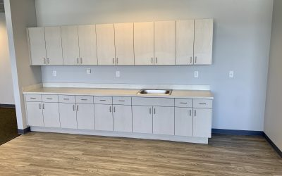 New Flooring & Cabinets at OEC Remodel (Peoria)