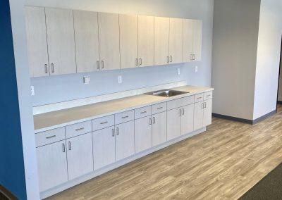 OEC breakroom cabinets