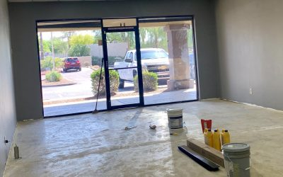 New Paint at Fiesta Plaza Remodel (Tempe)