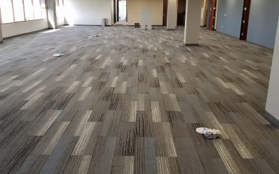 Phase 2 Carpet & Base Completed at EMC Insurance (Peoria)