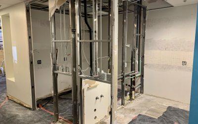 Demolition at Macdonald Orthodontics (Gilbert)
