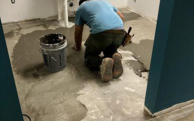 Ceiling Repair, Flooring, & Cleaning at Macdonald Ortho (Gilbert)
