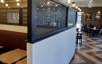 New Privacy Wall Complete at Vito's Ristorante (Gilbert)