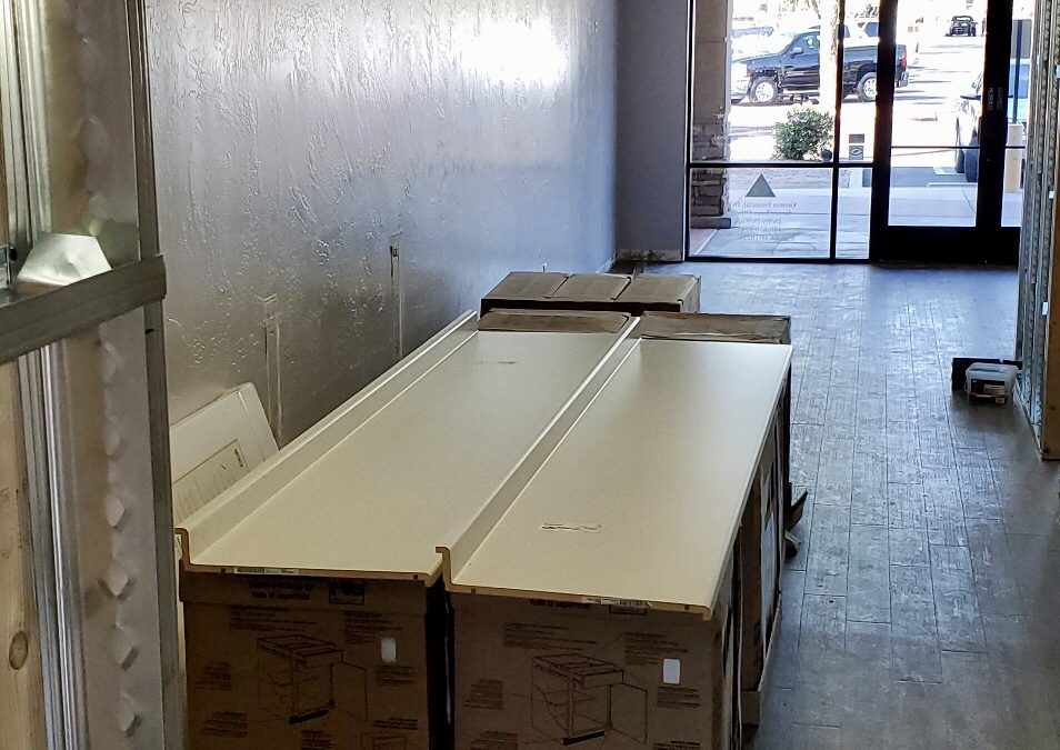 Cabinets at Nascent Health Clinic (Gilbert)