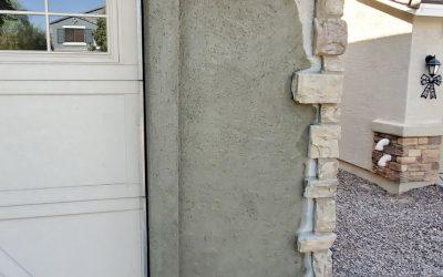 Gilbert Residential Garage Repair Progress