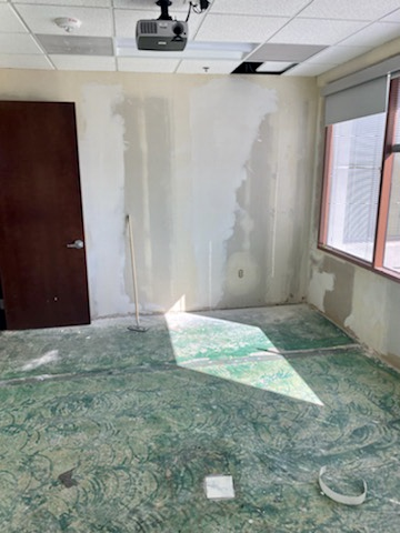 Drywall Repair at EMC Insurance (Peoria)