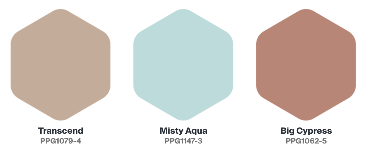 2021 PPG Paint Colors of the Year