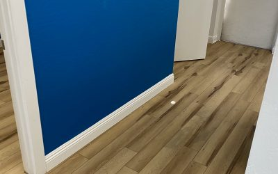 Baseboards at Nascent Clinic