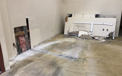 Demolition at The Harding Firm Remodel in Mesa