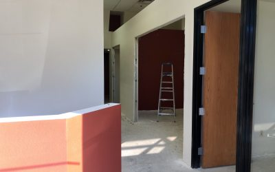Paint Nearly Complete at The Harding Firm