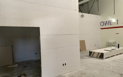 Drywall and Landscaping at Fusion Power (Chandler)