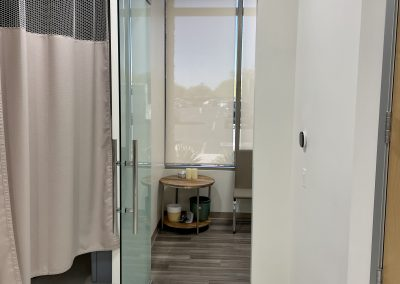 Visage Clinic Glass Door
