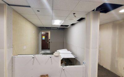 Drywall at EMC Insurance (Peoria)