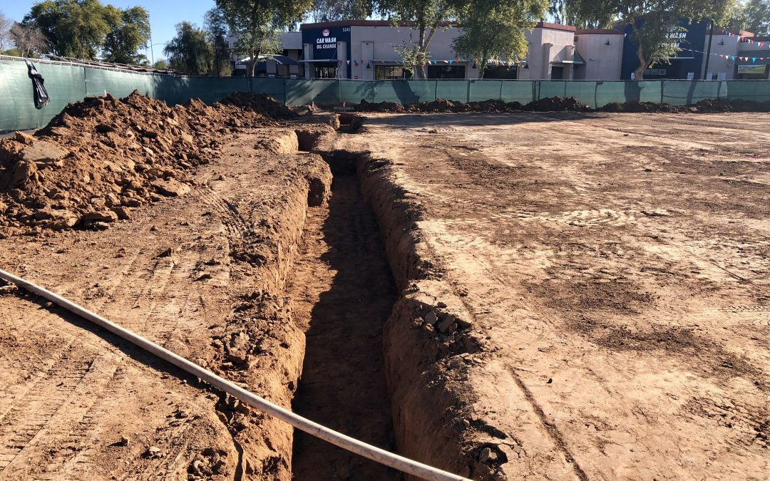 Footing Excavation at Apple Valley Dental & Braces (Mesa)