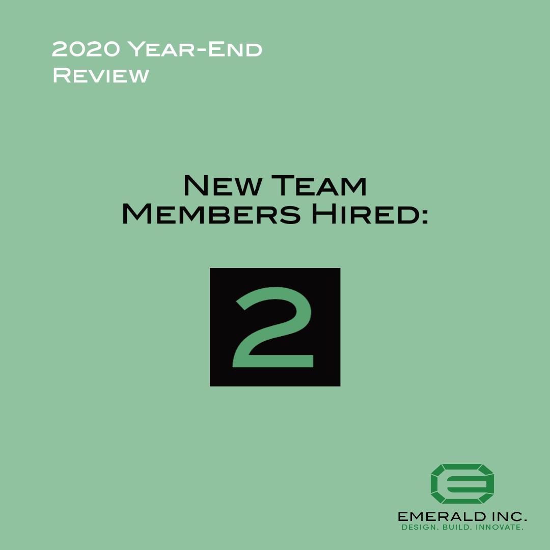 2020 New Hires